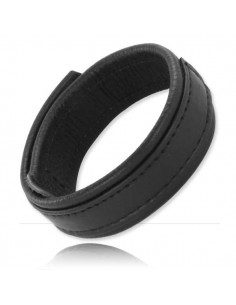 Velcro Leather Cock Ring 20 mm