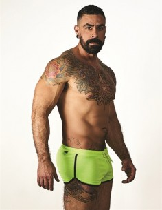 Ibiza Shorts Fluo Blue