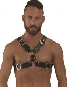MRB Leather Y-Front Harness