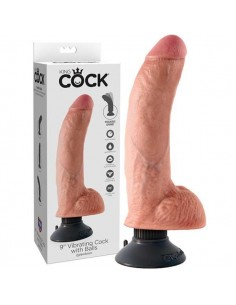 9 inch Vibrating Cock with...