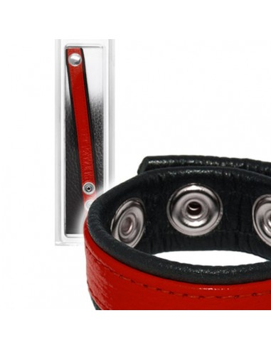 Leather Cockring Strap Band